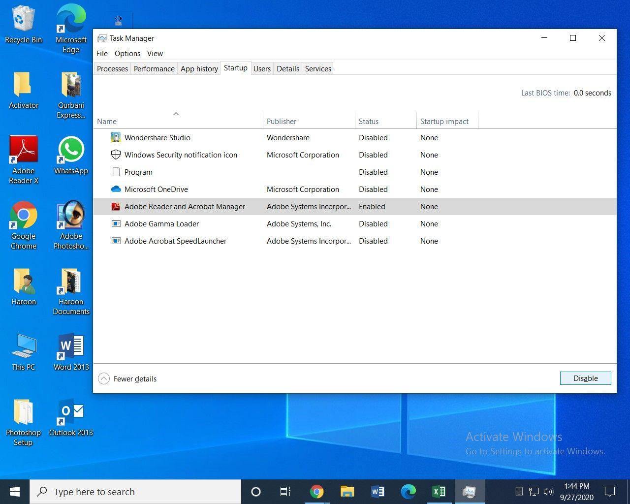 Windows task manager image 2