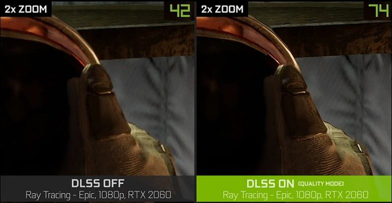DLSS performance