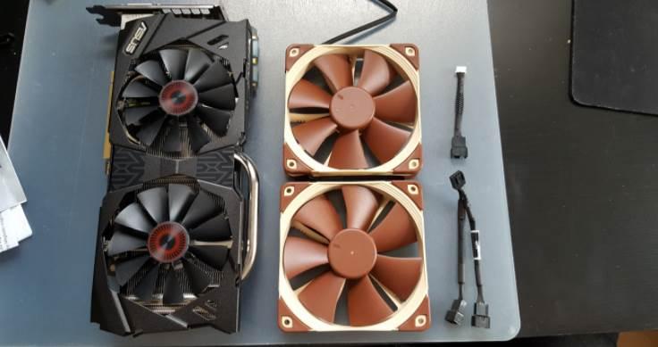 Noctua Fan Replacements for GPUs