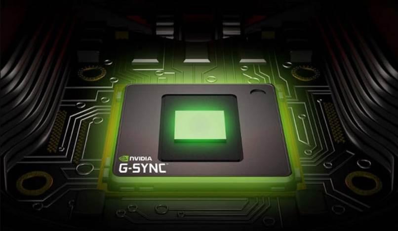 CGI of G Sync Chip inside