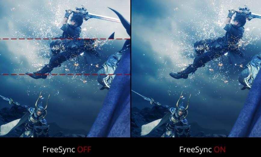 Image of Final Fantasy 15 Screen Tearing
