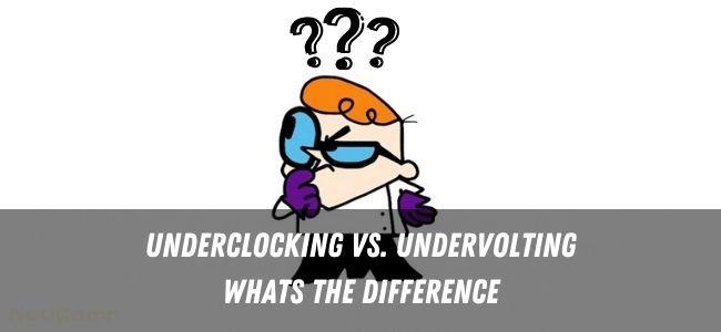 Underclocking Vs. Undervolting Infographics