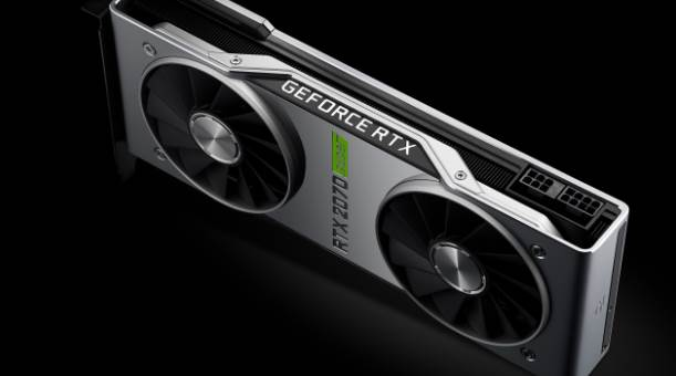 Side view of the RTX 2070 Super