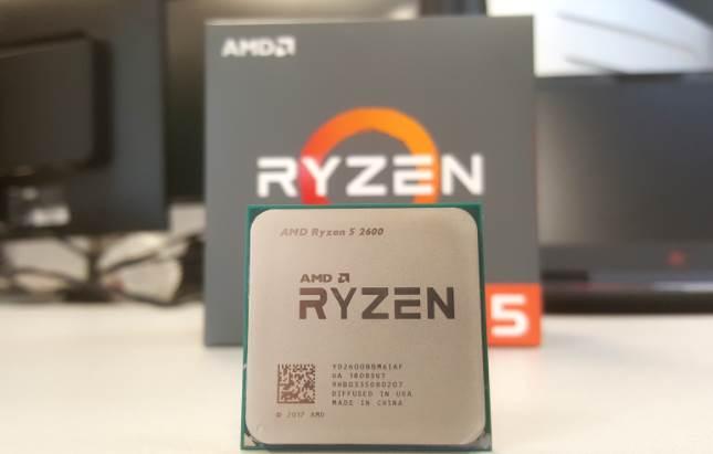 image of Ryzen 5 2600 CPU