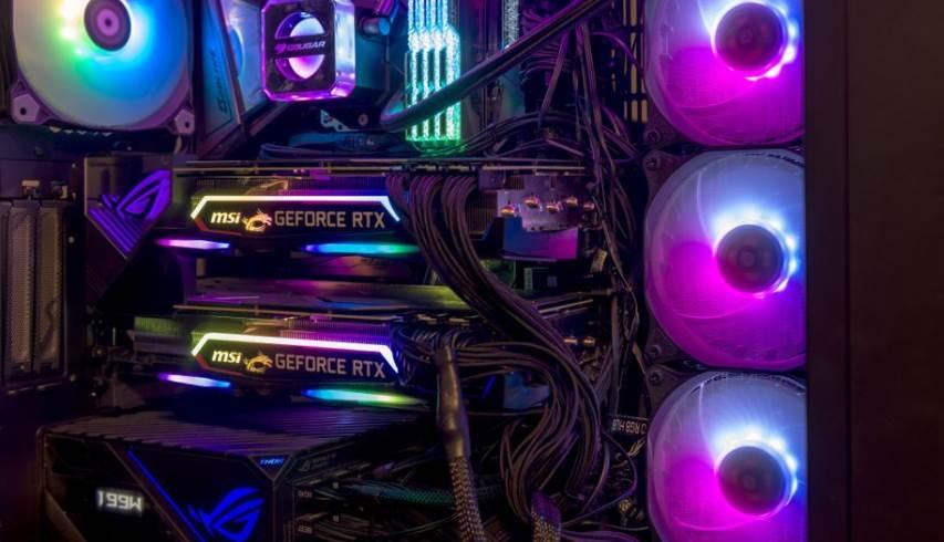 Image of Dual GPU PC Setup