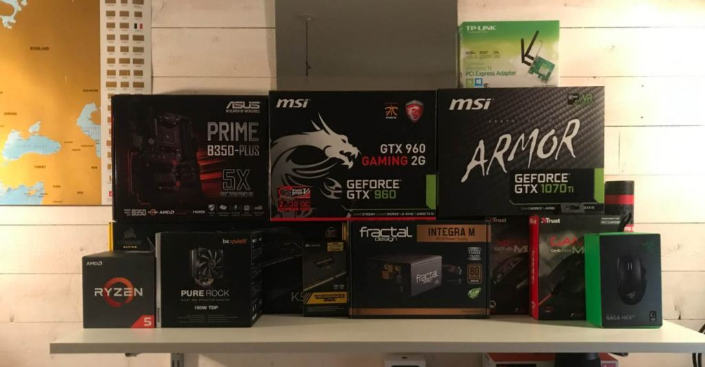 Image of MSI PC Parts Boxes