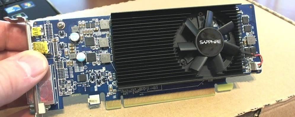 Image of a Low Profile GPU