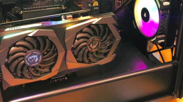 image of MSI GAMING X RTX 2060 SUPER PC Build