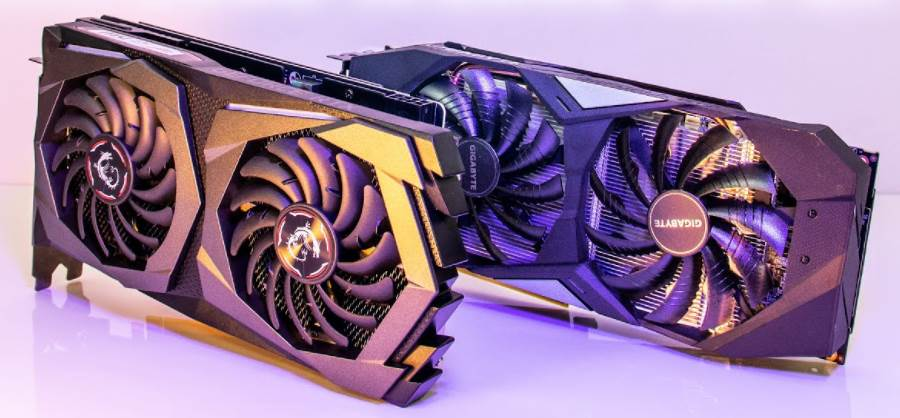 image of two rtx 2000 series graphics cards