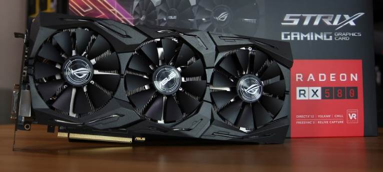 Image of Asus ROG Strix RX 580 Triple Fan Edition