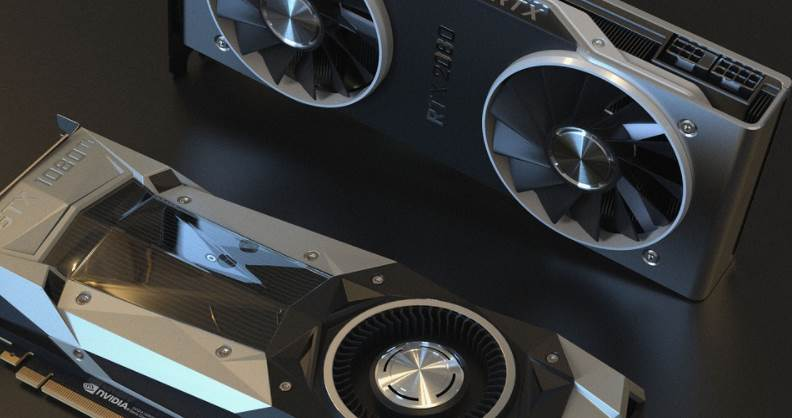 Image of GTX 1080 and RTX 2080