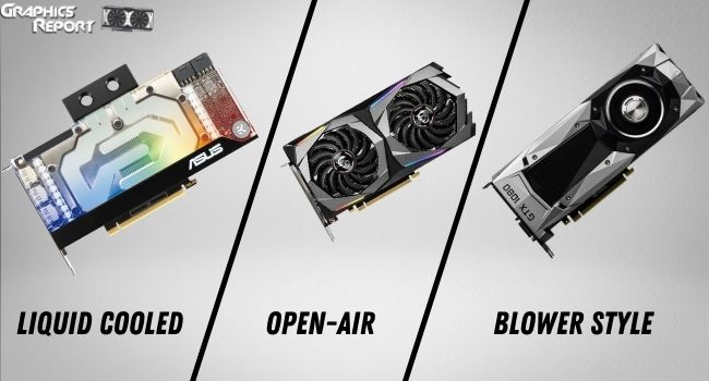 Types of Cooling Techs Used In GPUs