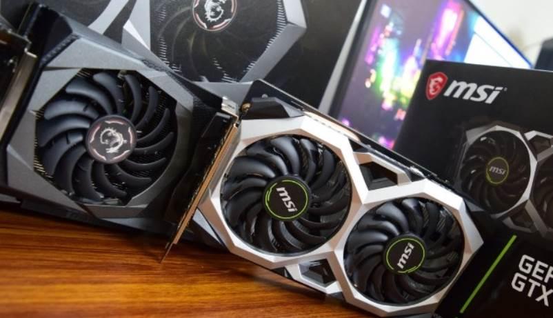 image of MSI ventus and Gaming X GPUs