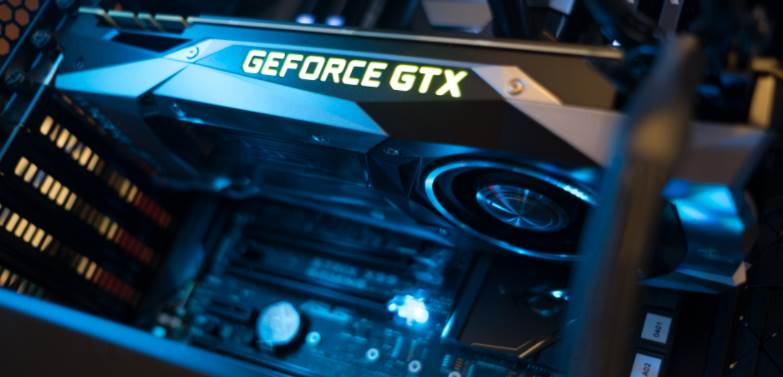 image of gtx 1080 ti inside a pc