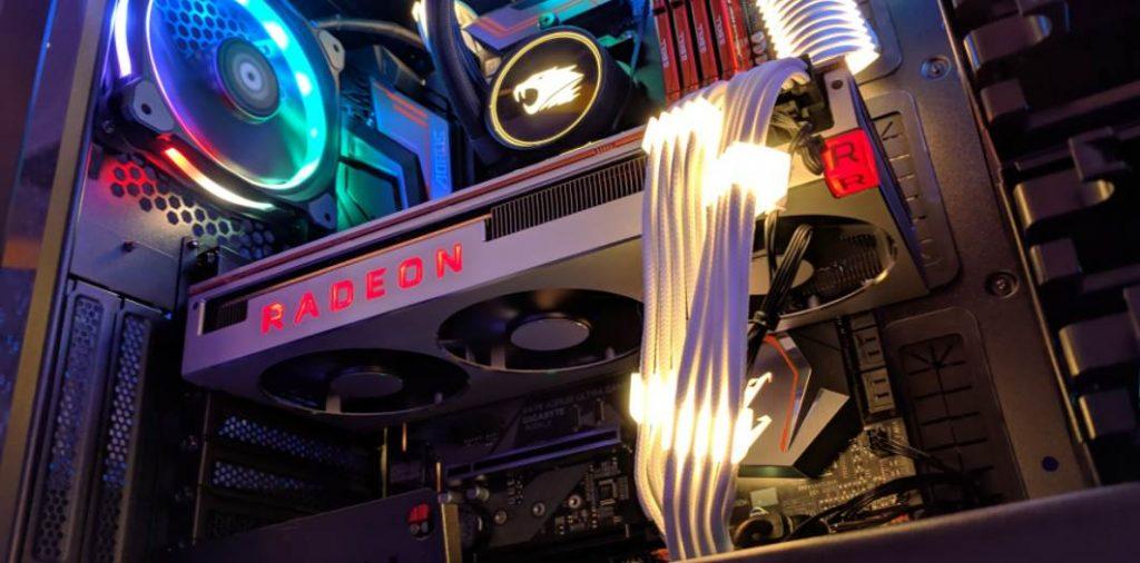 image of radeon power gaming pc