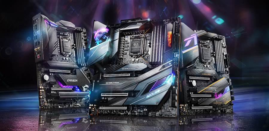 image of three msi gaming motherboards