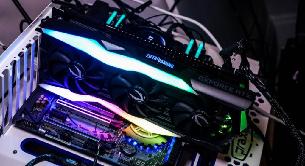 image of zotac rtx 2080 amp edition